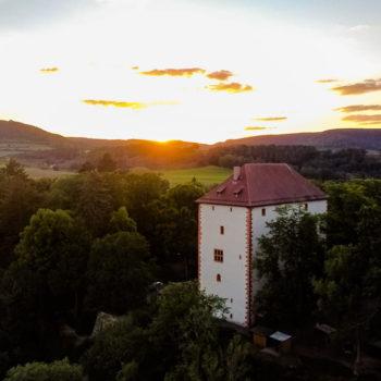 Sonnenuntergang über Orlamünde; Tom Höfer